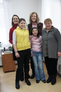 Yulia and Natasha have a new home!