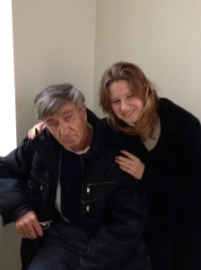 Sasha and her father